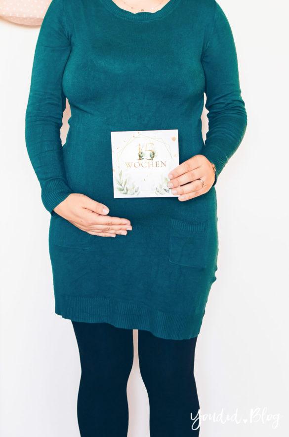 15. Schwangerschaftswoche - Schwangerschaftsupdate Babybauch BabyBump Bauchfotos schwanger Baby Maternity Photos | https://youdid.blog