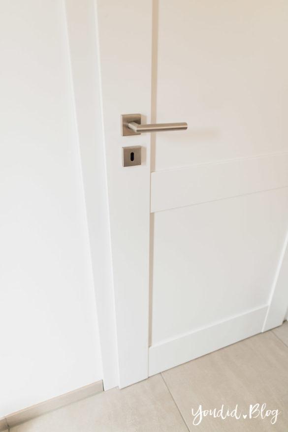 Room Tour durchs Haus moderne Kassettentüren und unsere Erfahrung mit Tür und Zarge HWR | https://youdid.blog
