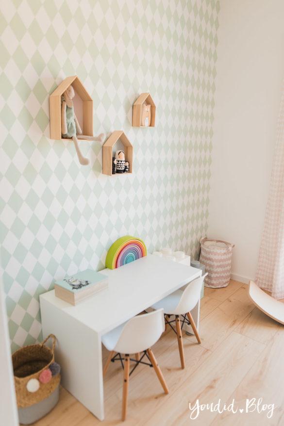 Unser skandinavisches Kinderzimmer und unsere Erfahrungen mit dem Bioboden von Wineo | https://youdid.blog
