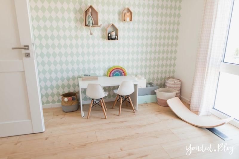 Unser skandinavisches Kinderzimmer und unsere Erfahrungen mit dem Purline Bioboden von Wineo | https://youdid.blog