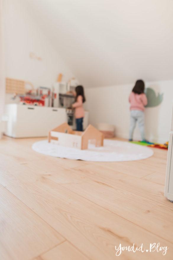 Unser skandinavisches Kinderzimmer und unsere Erfahrungen mit dem Purline Bioboden von Wineo Testbericht im Kinderzimmer | https://youdid.blog