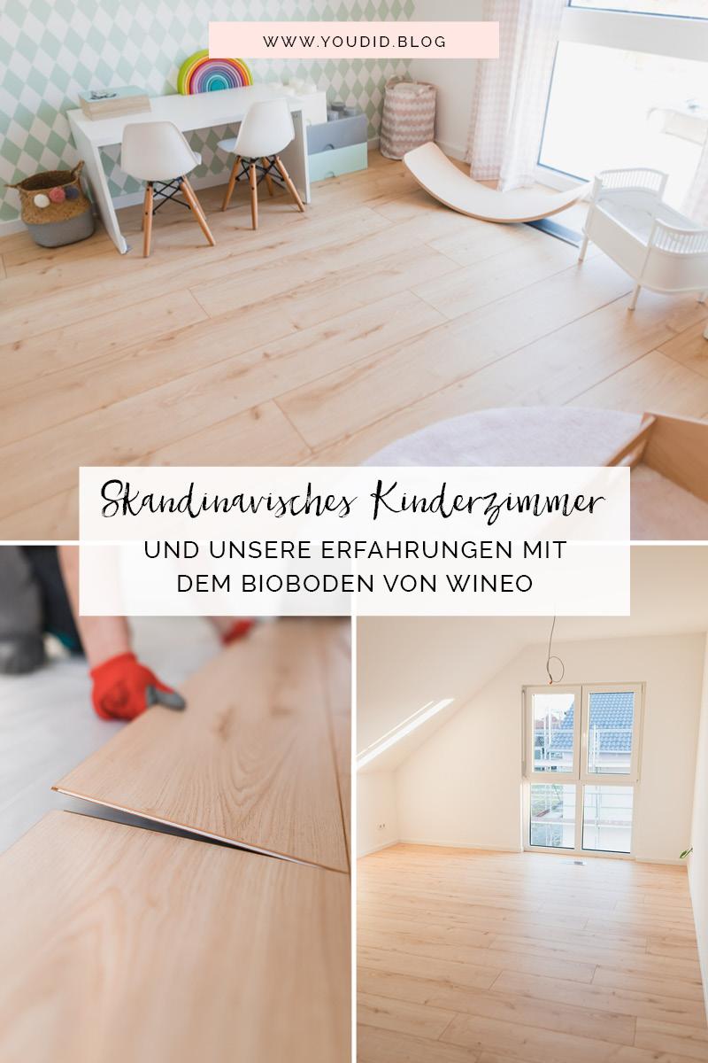 Unser skandinavisches Kinderzimmer und unsere Erfahrungen mit dem Purline Bioboden von Wineo Biovinyl verlegen | https://youdid.blog