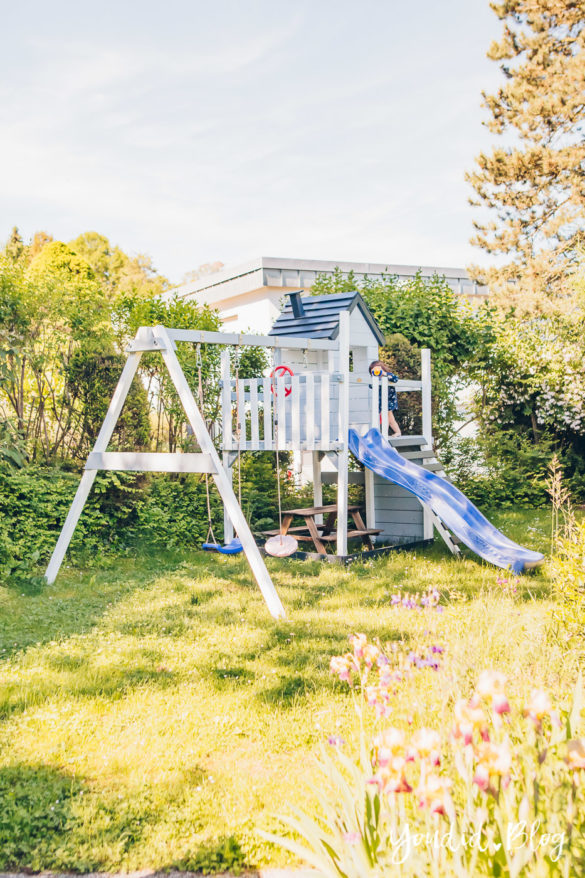 Unsere Gartenplanung und unser neuer Spielturm von Wickey | https://youdid.blog