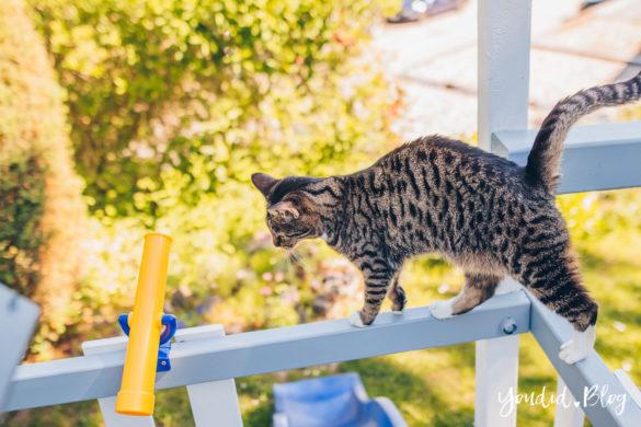 Unsere Gartenplanung und unser neuer Spielturm von Wickey Katze | https://youdid.blog