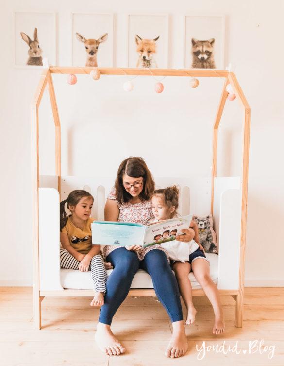 3 Monate Dreifach Mama - der perfekte Altersabstand und das persönlichste Vorlesebuch von Hurra Helden vorlesen | https://youdid.blog