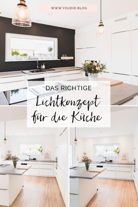 Bauanleitung Küchenabkofferung Küche verkoffern Küchenschränke einkoffern mit Trockenbau verkleiden Lichtkonzept B.K.Licht Kächenschrankwand abkoffern | https://youdid.blog