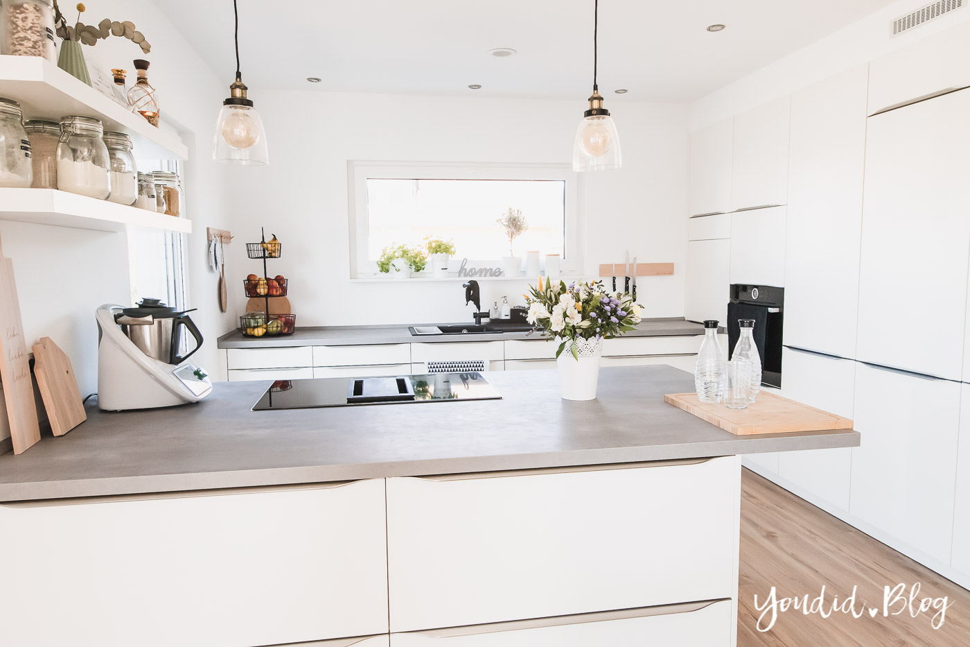 Bauanleitung Küchenhochschränke verkoffern Trockenbau in der Küche und Lichtkonzept in der Küche | https://youdid.blog