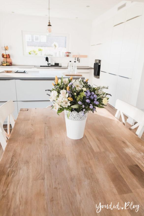 Bauanleitung Küchenschränke verkoffern Küche verkleiden Trockenbau in der Küche und Lichtkonzept in der Küche | https://youdid.blog