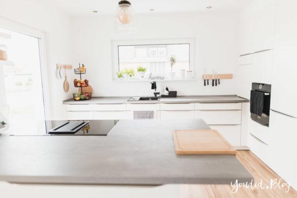 Das richtige Lichtkonzept in der Küche Bauanleitung Küchenschränke verkoffern Küchenschrankwand abkoffern Küchenhochschränke mit Trockenbau verkleiden | https://youdid.blog