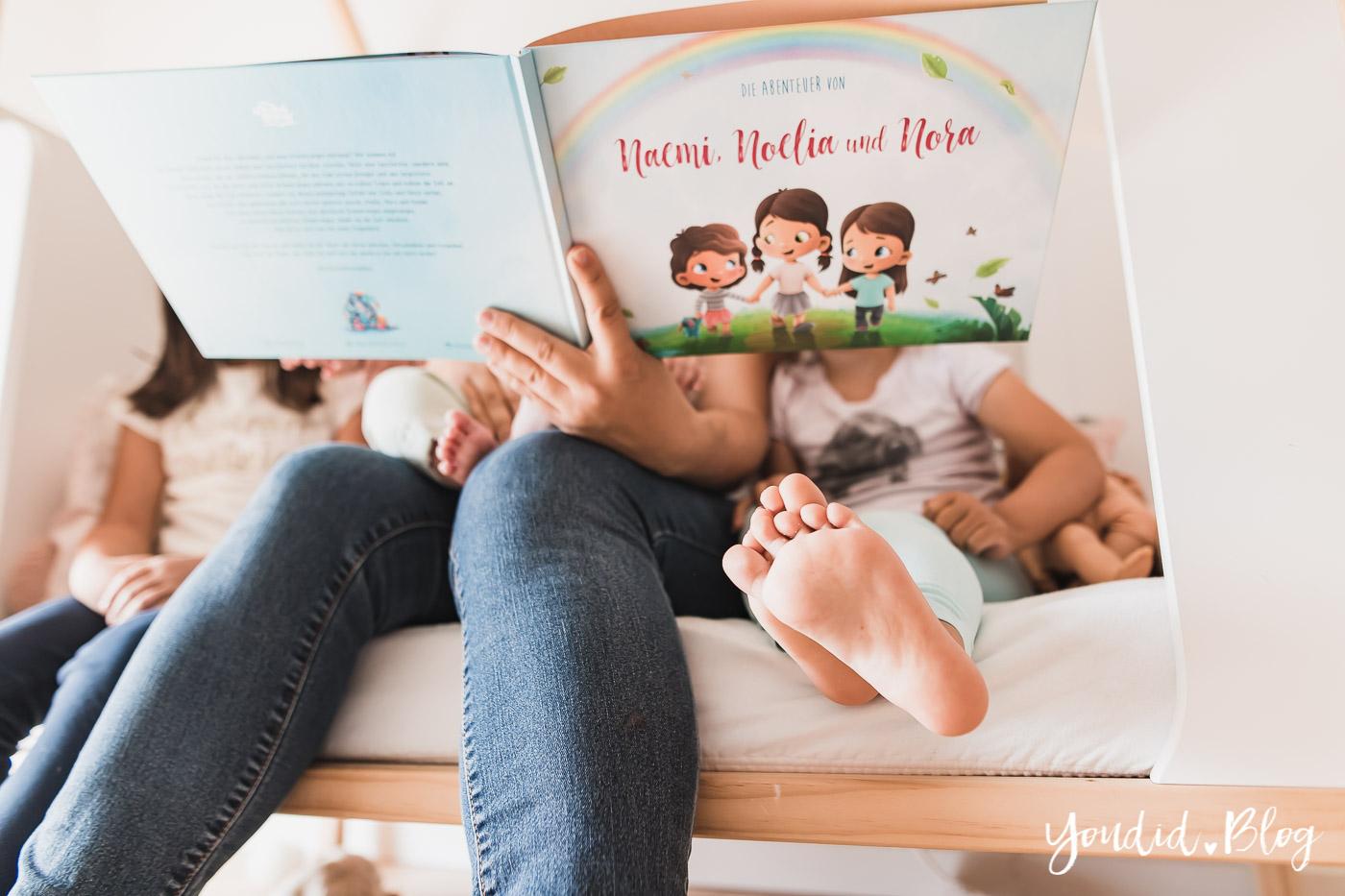 Drei Monate Dreifach Mama - der perfekte Altersabstand und das persönlichste Vorlesebuch von Hurra Helden | https://youdid.blog