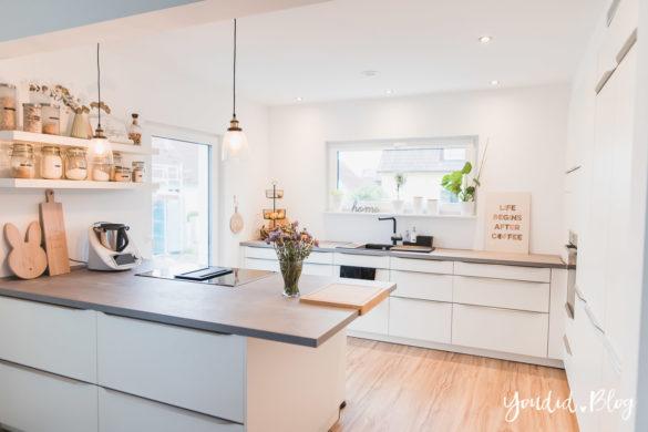 Lichtkonzept in der Küche Bauanleitung Küchenschränke verkoffern Küchenschrankwand abkoffern Küchenhochschränke mit Trockenbau einkoffern | https://youdid.blog