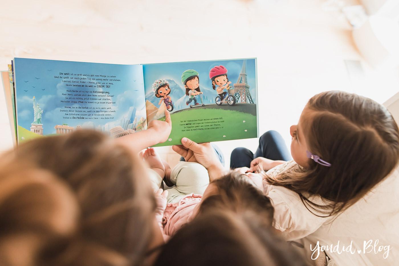 Was ist der perfekte Altersabstand beim dritten Kind und das persönlichste Vorlesebuch von Hurra Helden | https://youdid.blog