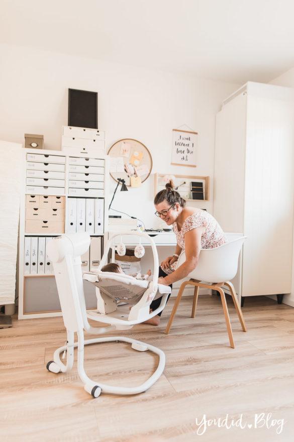 Home Office und meine Erfahrung mit der elektrischen Wippe Serina 2in1 | https://youdid.blog