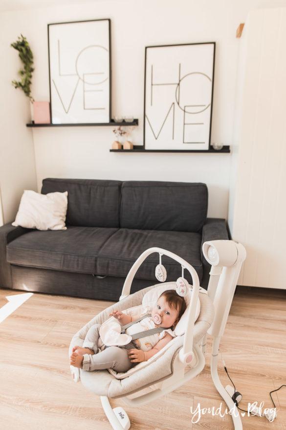 kleine Kinder im Home Office meine Tipps und Erfahrungen mit der elektrischen Wippe Serina 2in1 | https://youdid.blog