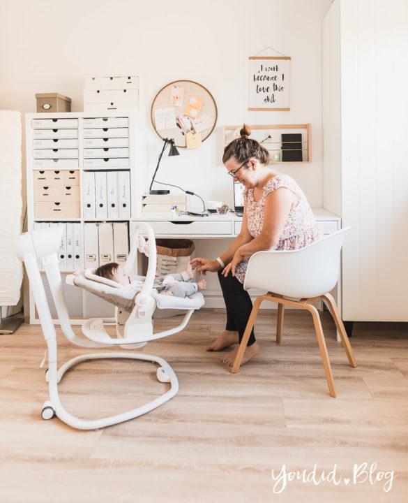 Mit Kindern im Home Office meine Tipps und Erfahrungen mit der elektrischen Wippe Serina 2in1 | https://youdid.blog
