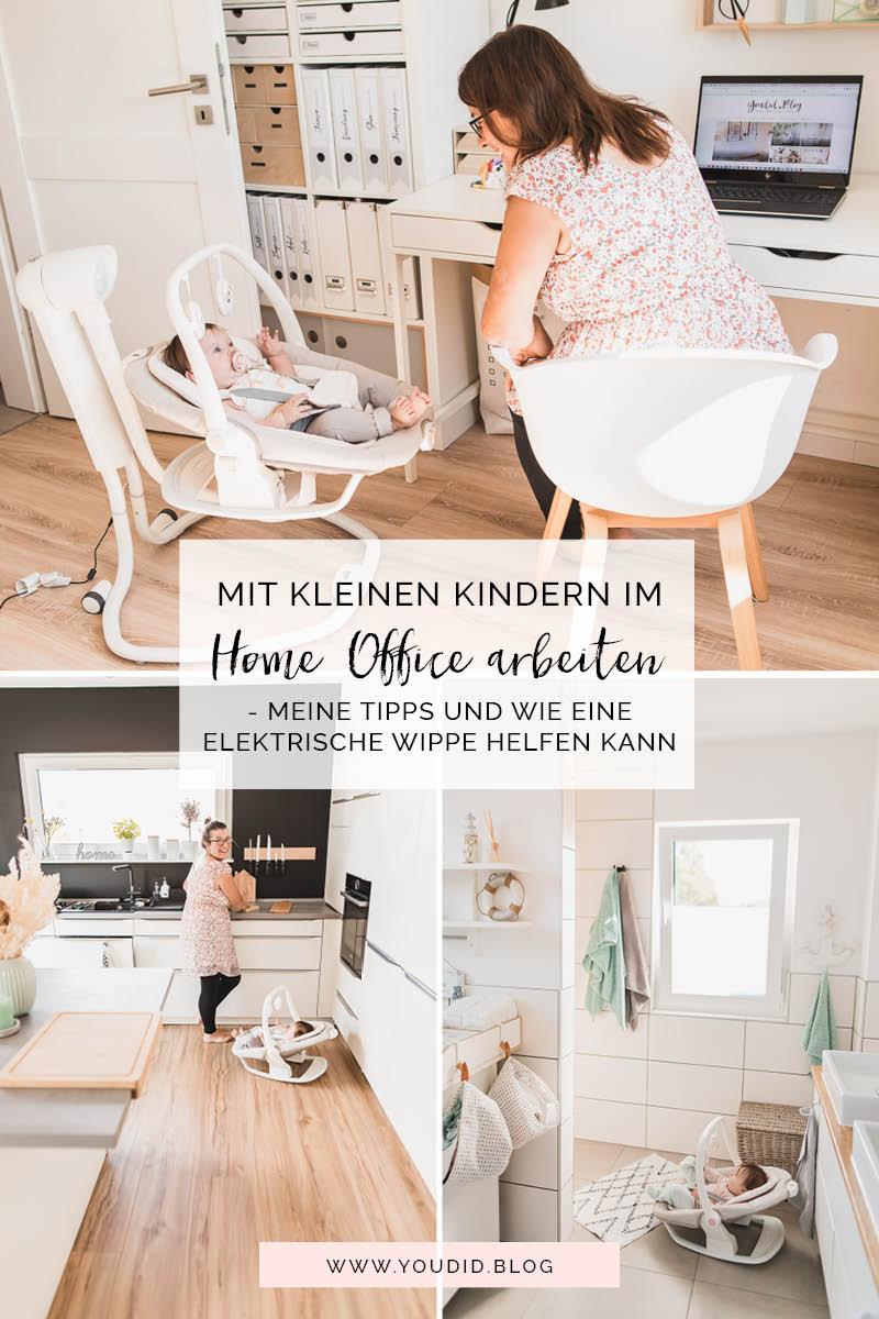 Mit kleinen Kindern im Home Office arbeiten meine Tipps und meine Erfahrungen mit der elektrischen Wippe Serina2in1 | https://youdid.blog