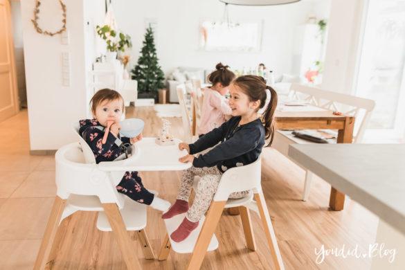 Den perfekten Hochstuhl finden - Unsere Erfahrung mit dem Stokke Steps nach 3 Kindern Geschwister | https://youdid.blog