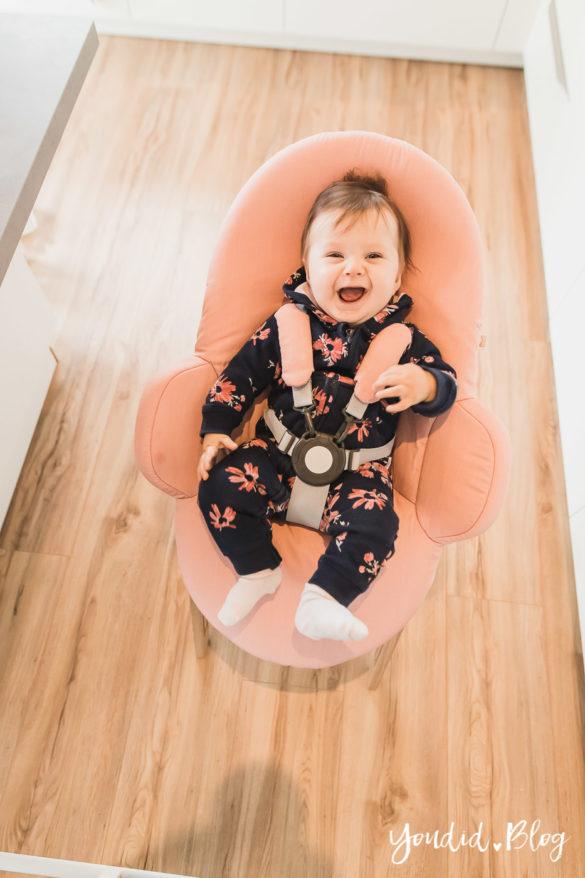 Den richtigen Hochstuhl finden - Unsere Erfahrung mit dem Stokke Steps nach 3 Kindern Newborn Aufsatz | https://youdid.blog