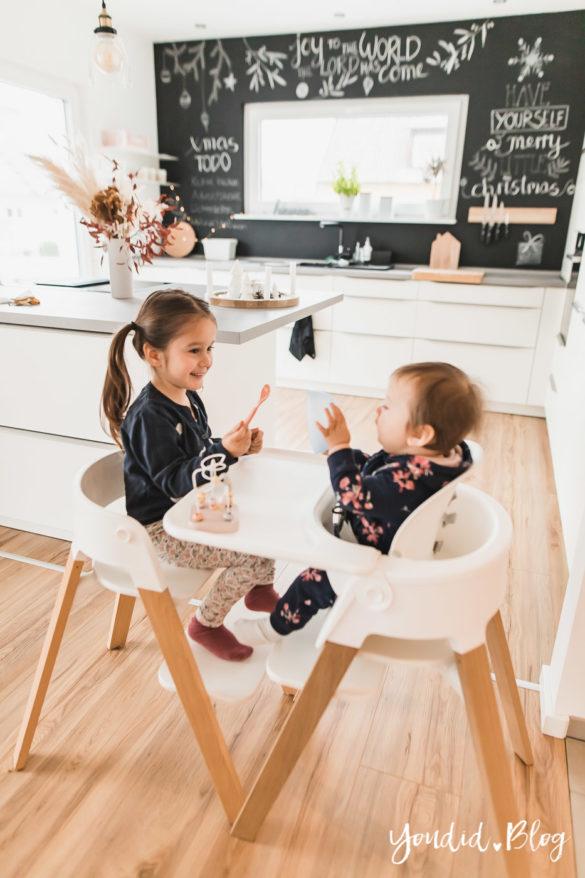Den richtigen Kinderhochstuhl finden - Unsere Erfahrungen mit dem Stokke Steps nach 3 Kindern | https://youdid.blog