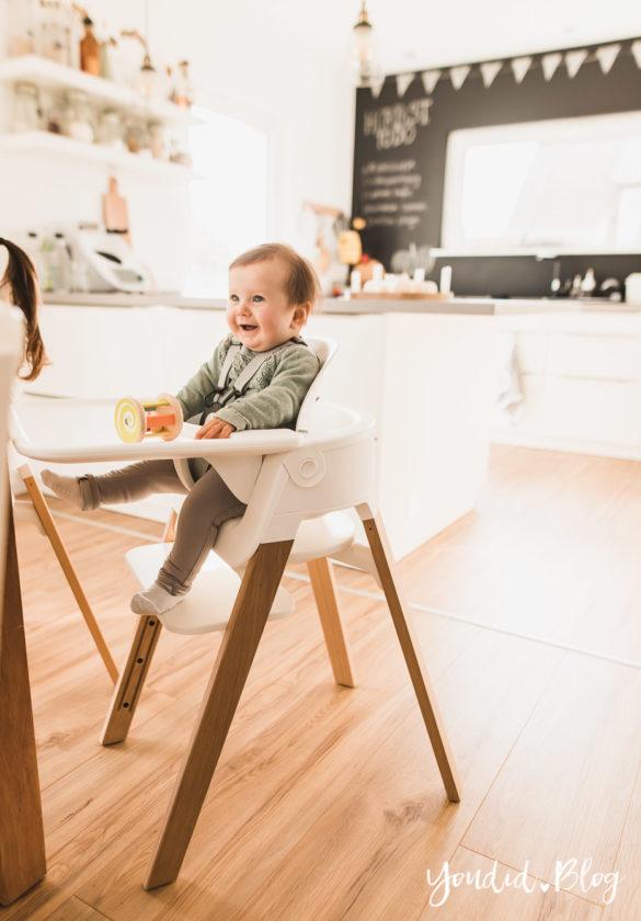 Den richtigen Hochstuhl finden - Unsere Erfahrung mit dem Stokke Steps nach 3 Kindern Tray | https://youdid.blog