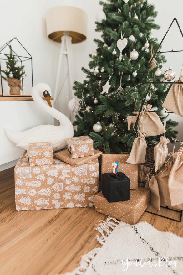 Was gibts Neues von der Toniebox Entdecke die Audiothek von Tonies Weihnachtsbaum Schwan | https://youdid.blog