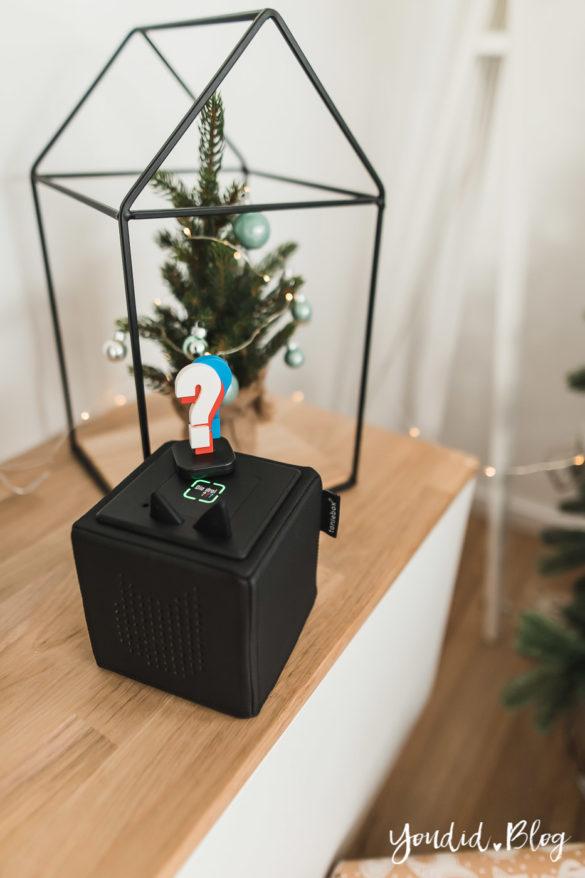 Was gibts Neues von der Toniebox - Entdecke die Audiothek von Tonies Weihnachtsdeko Tonies | https://youdid.blog