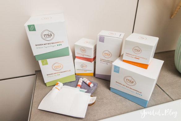 Zeit für neue Regeln - Die Periodenprodukte von mia care im Abo bestellen Slipeinlagen Binden Tampons meine Erfahrungen mit | https://youdid.blog