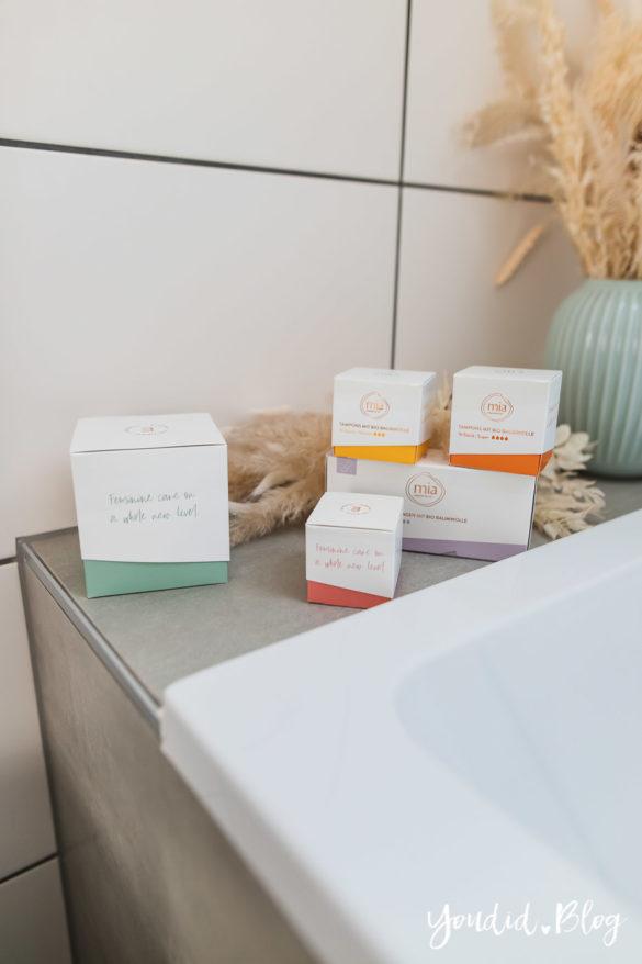 Zeit für neue Regeln - Die Periodenprodukte von mia im Abo bestellen Tampons Slipeinlagen Binden meine Erfahrung mit mia care | https://youdid.blog