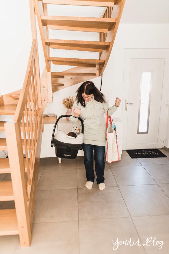 10 Mama Hacks super praktische Lifehacks Babyschale leichter tragen | https://youdid.blog