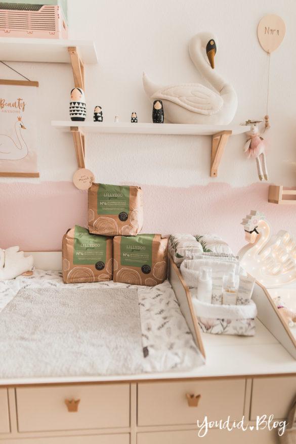 10 Mama Hacks super praktische Lifehacks die neuen Windeln von Lillydoo Schwanen Babyzimmer Nurserydecor Ikea Hack | https://youdid.blog