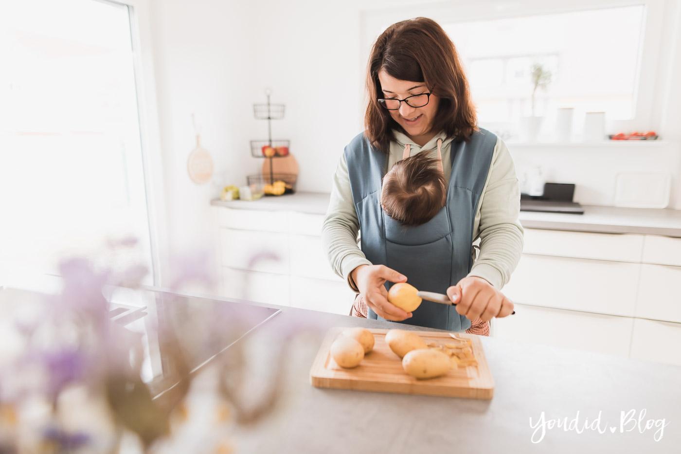 10 Mama Hacks super praktische Lifehacks die neuen Wiindeln von Lillydoo Babytrage im Haushalt | https://youdid.blog