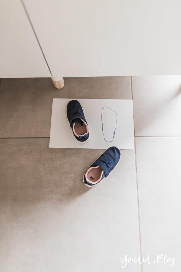 10 praktische Mama Hacks und das grüne LILLYDOO Windelabo Schuhe rechts links Trick | https://youdid.blog