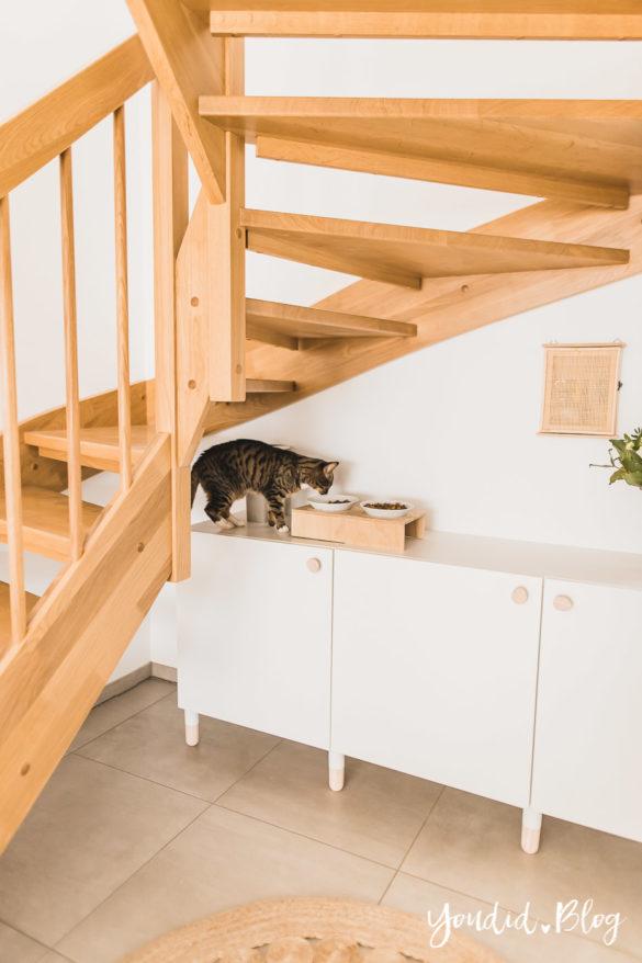 DIY Katzenklo in einem IKEA Besta Schrank verstecken - IKEA Hack verstecktes Katzenklo - IKEA Hack hidden cat litter box in a ikea cabinet | https://youdid.blog