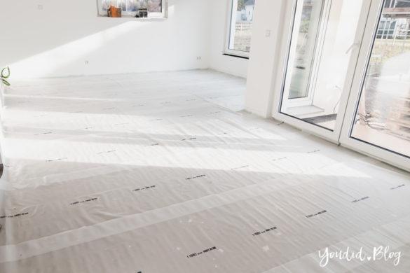 Fliesen Vinyl oder Holzfussboden in der Küche - Unsere Erfahrungen mit dem Purline Bioboden von Wineo Boden selbst verlegen | https://youdid.blog