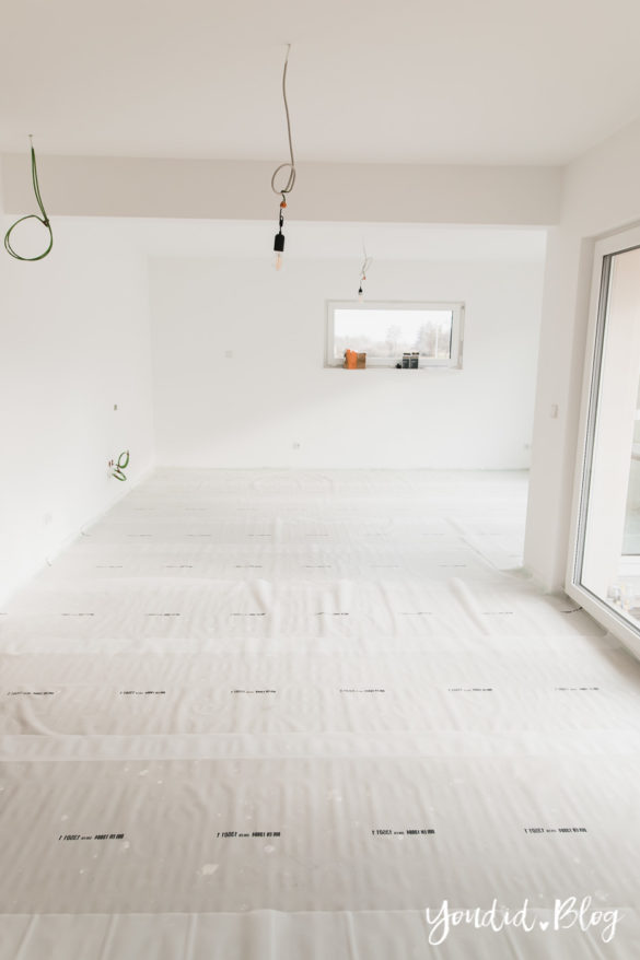 Fliesen Vinyl oder Holzfussboden in der Küche - Unsere Erfahrungen mit dem Purline Bioboden von Wineo Vinyl selbst verlegen Dampfbremse | https://youdid.blog
