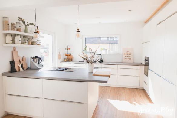 Fliesen Vinyl oder Holzfussboden in der Küche - Unsere Erfahrungen mit dem Purline Bioboden von Wineo Osterdeko | https://youdid.blog