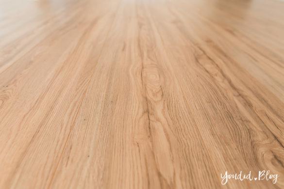 Fliesen Vinyl oder Holzfussboden in der Küche - Unsere Erfahrungen mit dem Purline Bioboden von Wineo Vinyl Bodendetail | https://youdid.blog