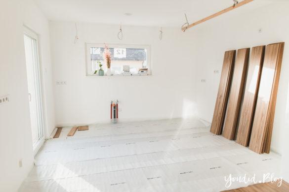Fliesen Vinyl oder Holzfussboden in der Küche - Unsere Erfahrungen mit dem Purline Bioboden von Wineo Vinyl selbst verlegen Dielen XXL | https://youdid.blog