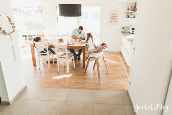 Fliesen Vinyl oder Holzfussboden in der Küche - Unsere Erfahrungen mit dem Purline Bioboden von Wineo Vinyl selbst verlegen Essen | https://youdid.blog