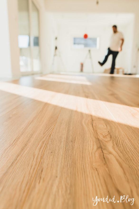 Fliesen Vinyl oder Holzfussboden in der Küche - Unsere Erfahrungen mit dem Purline Bioboden von Wineo Vinyl selbst verlegen Fertig | https://youdid.blog