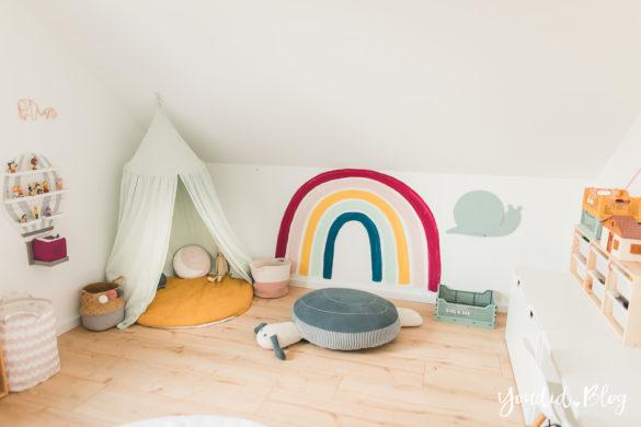Fliesen Vinyl oder Holzfussboden in der Küche - Unsere Erfahrungen mit dem Purline Bioboden von Wineo Vinyl selbst verlegen Kinderzimmereinblick | https://youdid.blog